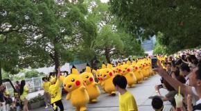 Марш покемонов в Японии