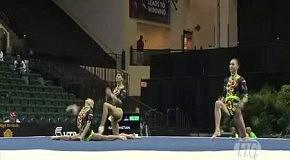 Россиянки на Чемпионате мира по акробатике