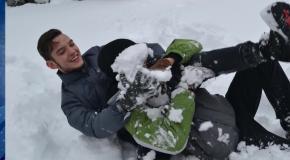 Зимові баталії 11б. Андрушівська гімназія. Володимир Повальчук