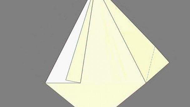 Оригами. Как сделать бумажного