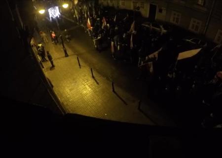 Польские националисты впроцессе марша вПеремышле орали «Смерть украинцам»