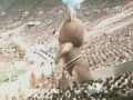 Закрытие Олимпиады в Москве 1980