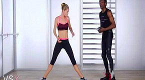 Фитнес с Victoria's Secret: упражнения для ягодиц