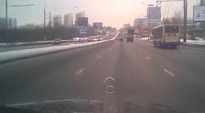 Мужчина снял свою гибель в ДТП с банкиром в Москве