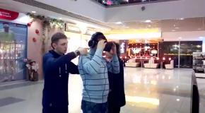 Реакция на полное погружение в виртуальную реальность