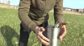 Пневматическая пушка для стрельбы картофелем