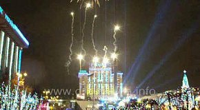 Киев. Майдан. Новый год 2011