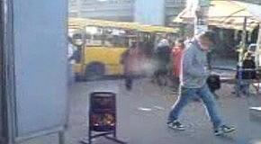 В Киеве замечена мусоросжигательная урна