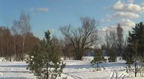 Морозная весна