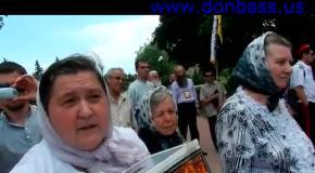 Сектанты на анти гей-параде в Донецке несут невероятную чушь