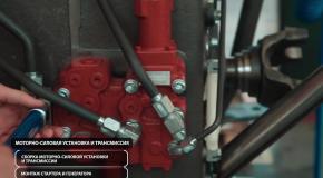 Серийное производство тракторов модели 2375 на основной площадке в Ростове-на-Дону