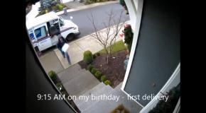 Украденное рождество или воровство подарков (скрытая камера)