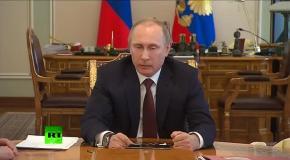 Путин об Украине: Пирожков на Майдане недостаточно, чтобы спасти экономику от хаоса