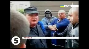 Сепаратисты в Луганське захватили ОГА - милиция не сдается