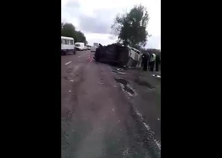 В страшное ДТП под Львовом попал рейсовый автобус. есть погибшие