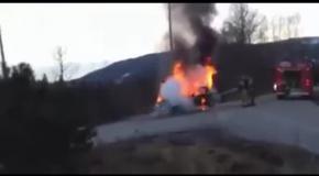 Пожар сбежал от пожарных