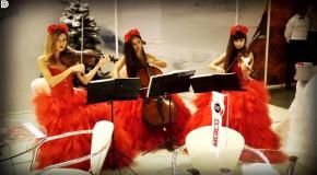 Feeling good (Nina Simone cover)- скрипачки Violin Group DOLLS на выставке