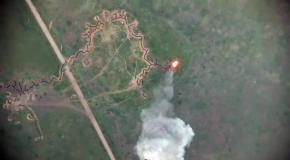 ВСУ из минометов уничтожили БМП-1 боевиков ДНР