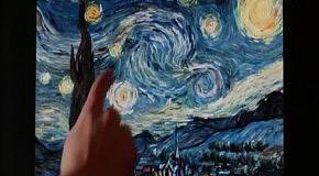 Интерактивная Звездная ночь Ван Гога