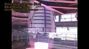 Испытания обновленных двигателей RS-25