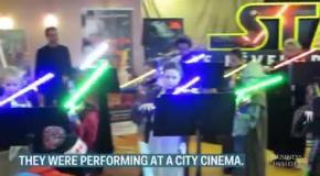 Концерт юных скрипачей-джедаев