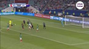 Массовая драка во время матча Мексика – Новая Зеландия