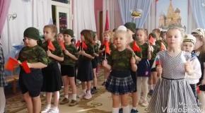 23 февраля в детских садиках России
