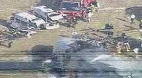 Авиакатастрофа в Японии