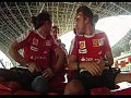 Felipe Massa и Fernando Alonso на скоростных горках