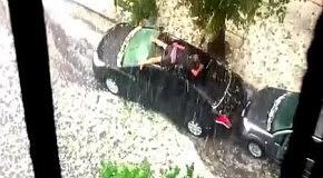 Как защитить авто от града