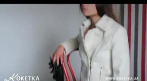 KOKETKA BOUTIQUE - коллекция белых пальто и полупальто