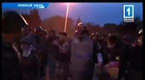 Столкновения в Одессе: Сгорел Дом профсоюзов - есть жертвы