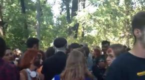 В Киеве прошел зомби-парад