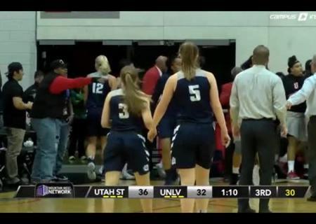 Баскетболистки устроили массовую драку впроцессе матча: видео потасовки