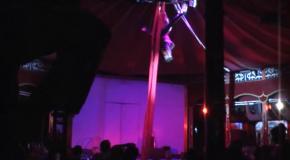 Дуэт Примавера -  воздушные гимнасты на полотнах.