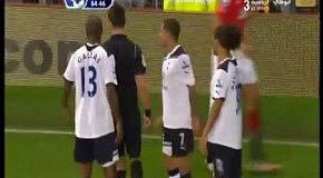 Ляп судьи в матче Manchester United vs Tottenham Hotspur