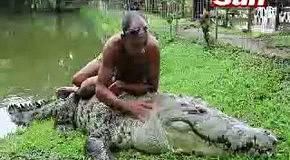 Дружба с 6 метровым крокодилом