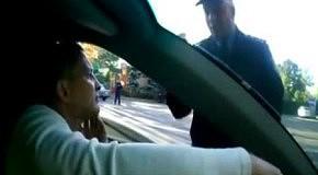 Инспектор ГАИ обозвал Могилева пид...сом