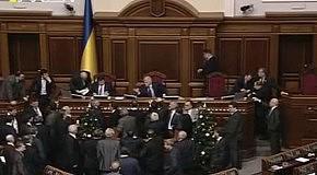 Литвин - депутату: Я тебе не давай, хамло