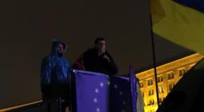 Виступ Андрія Іллєнка на Євромайдані