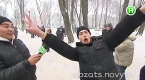Антимайдан: за что люди мерзнут в Мариинском парке