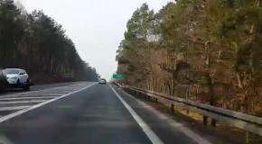 Польские бронетранспортеры Rosomak направляются на восток страны