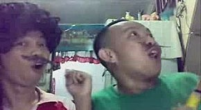 Братья Марио поют VOLARE