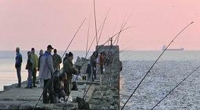 Лиепая Рыбалка на море