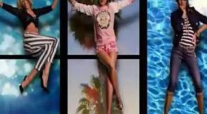 Кэндис Свэйнпоул, Изабели Фонтана и Наташа Поли для Juicy Couture