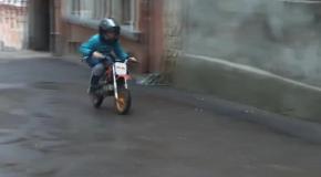 ДТП с малолетним байкером