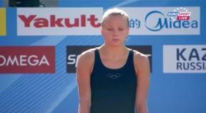 Юлия Прокопчук на чемпионате мира 2013