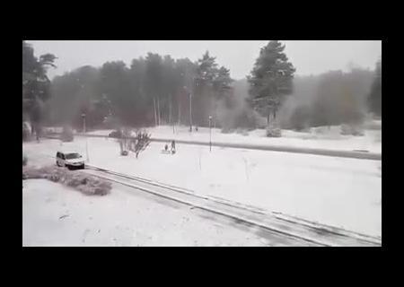 Первый снег вКиеве ждут уже всреду