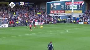 Курьезный гол из чемпионата Шотландии