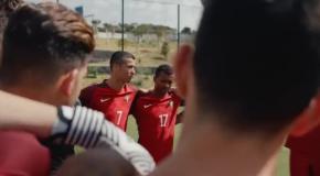Роналду, Месси и Погба снялись в крутой социальной рекламе